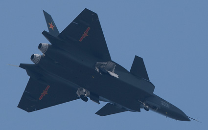 j 20  avion stealth chino : Chengdu-J-XX-VLO