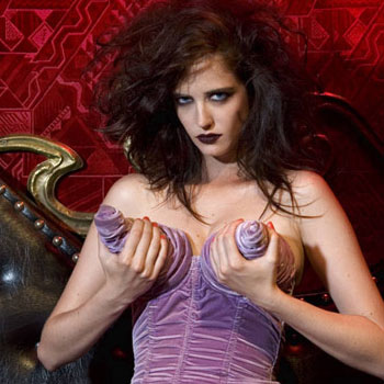 With a shout out to Agent Bedhead, whence the Eva Green pictorial.
