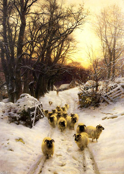 Joseph_Farquharson_The_sun_had_closed_the_winter's_day_c_1904.jpg